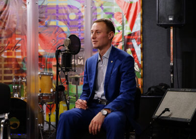 Ковалев Сергей коммерческий директор Мирков в прямом эфире на радио