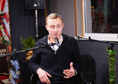 Сергей Ковалев в прямом эфире в передаче Владимира Кальяна